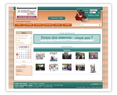 Home Colégio Jean Piaget - Educação Infantil