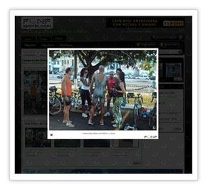 Destaque Visualização de Fotos/Vídeos - FÜNF Sports