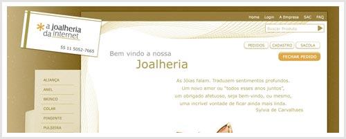 A Joalheria da Intenet