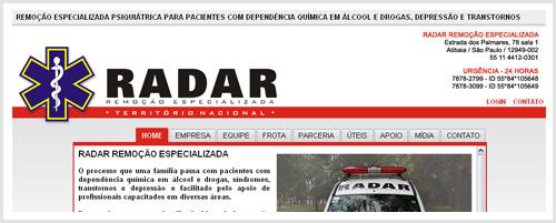 Radar Remoção